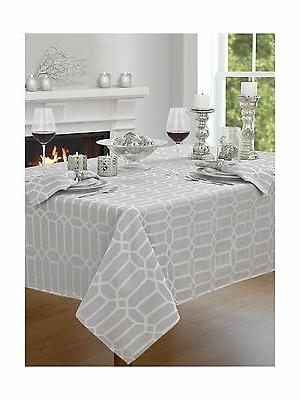 "Creative Dining Group Shimmer Fabric Tablecloth 52 by 70"" Si"