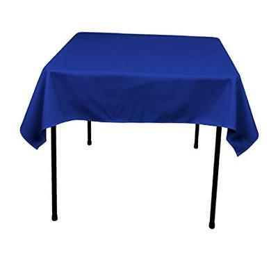 GFCC 54 x 54-Inch Seamless Royal Blue Rectangular Polyester