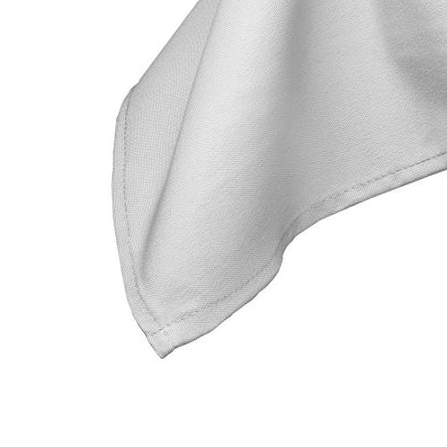 """Gee Rectangle Tablecloth x 132"""" Inch Rectangular 6 Foot Washable Polyester - Great for Buffet Holiday Dinner, More"""