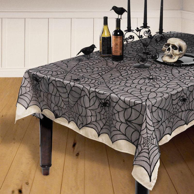 Lace Table Cover Fancy Lacey Cobweb