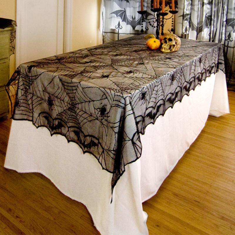 Lace Web Cover Halloween Lacey Webs