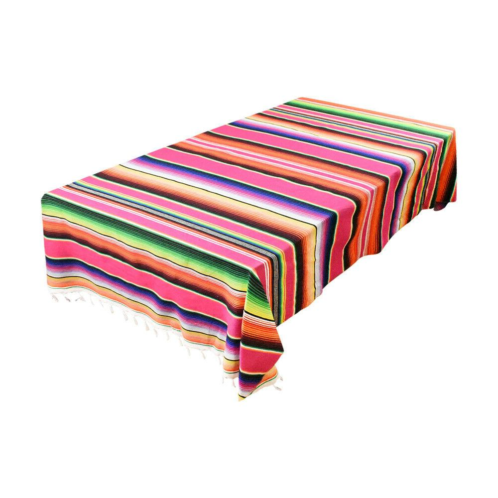 Remarkable Mexican Serape Table Runner Tablecloth Blanket Car Seat Download Free Architecture Designs Intelgarnamadebymaigaardcom