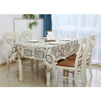 New World Map Vintage Pattern Dinning Coffee Table Cotton Li