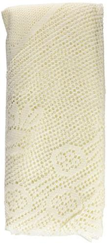 Ritz 100% Polyester Oversized Easy Care Linen Lace Tableclot
