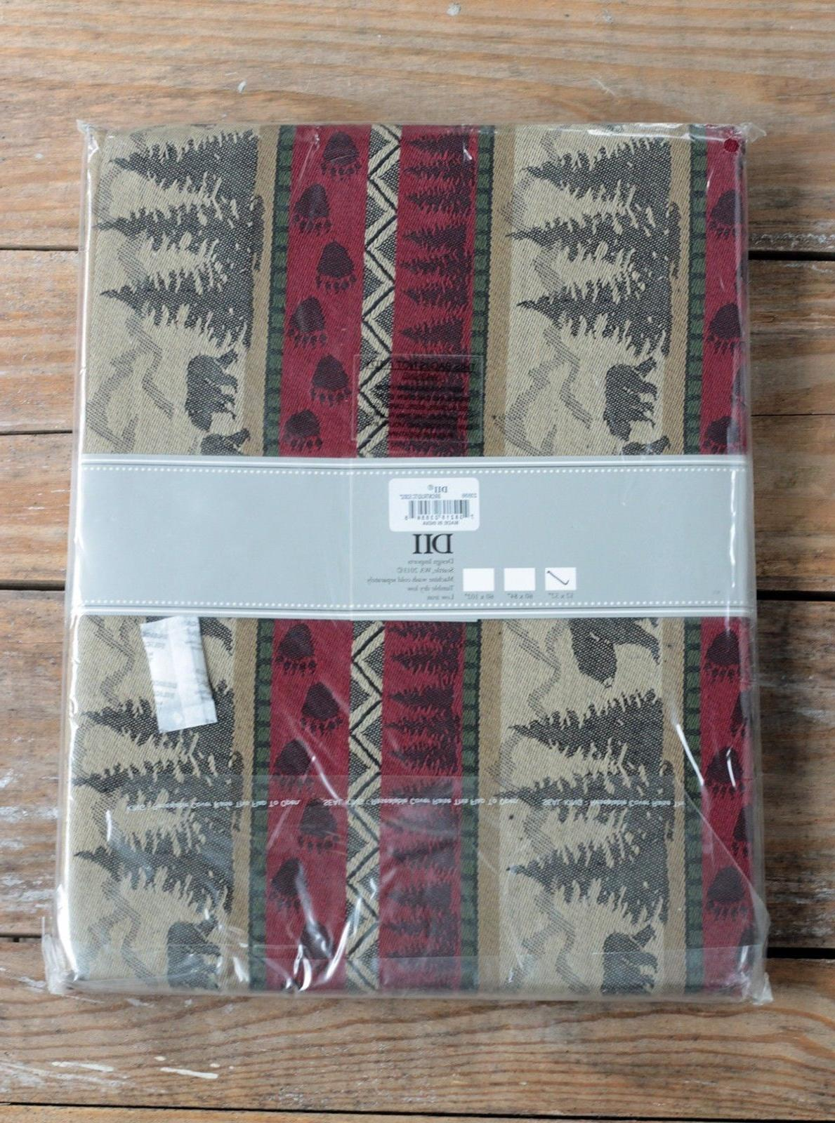 """Tablecloth Square DII Great Bear 52x52"""""""