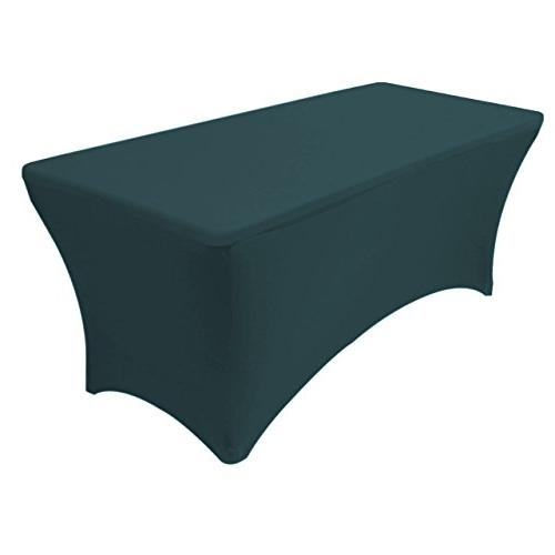 Your Chair Covers - Spandex 6 Ft Rectangular Stretch Tablecl