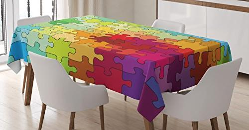 abstract tablecloth
