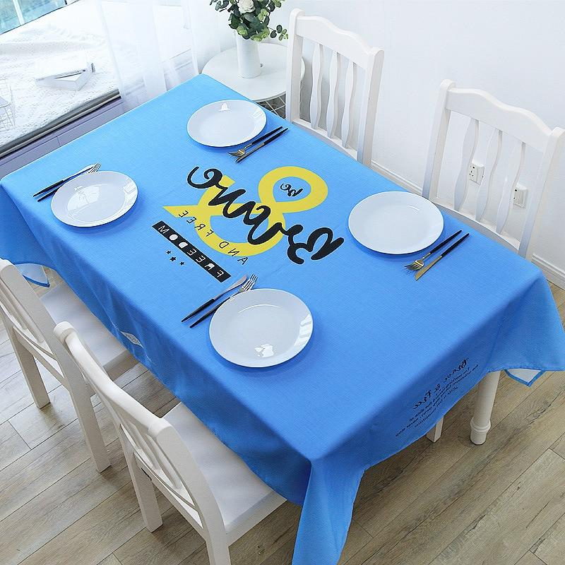American Style Decorative Table Cloth Cotton Lace Tablecloth Table For Home