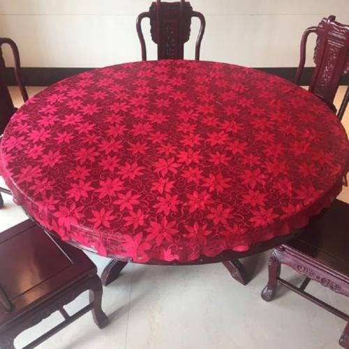 Antique Lace Round Table Wedding Home