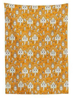 Asian Tablecloth 3 Sizes Available Rectangular Cover Decor