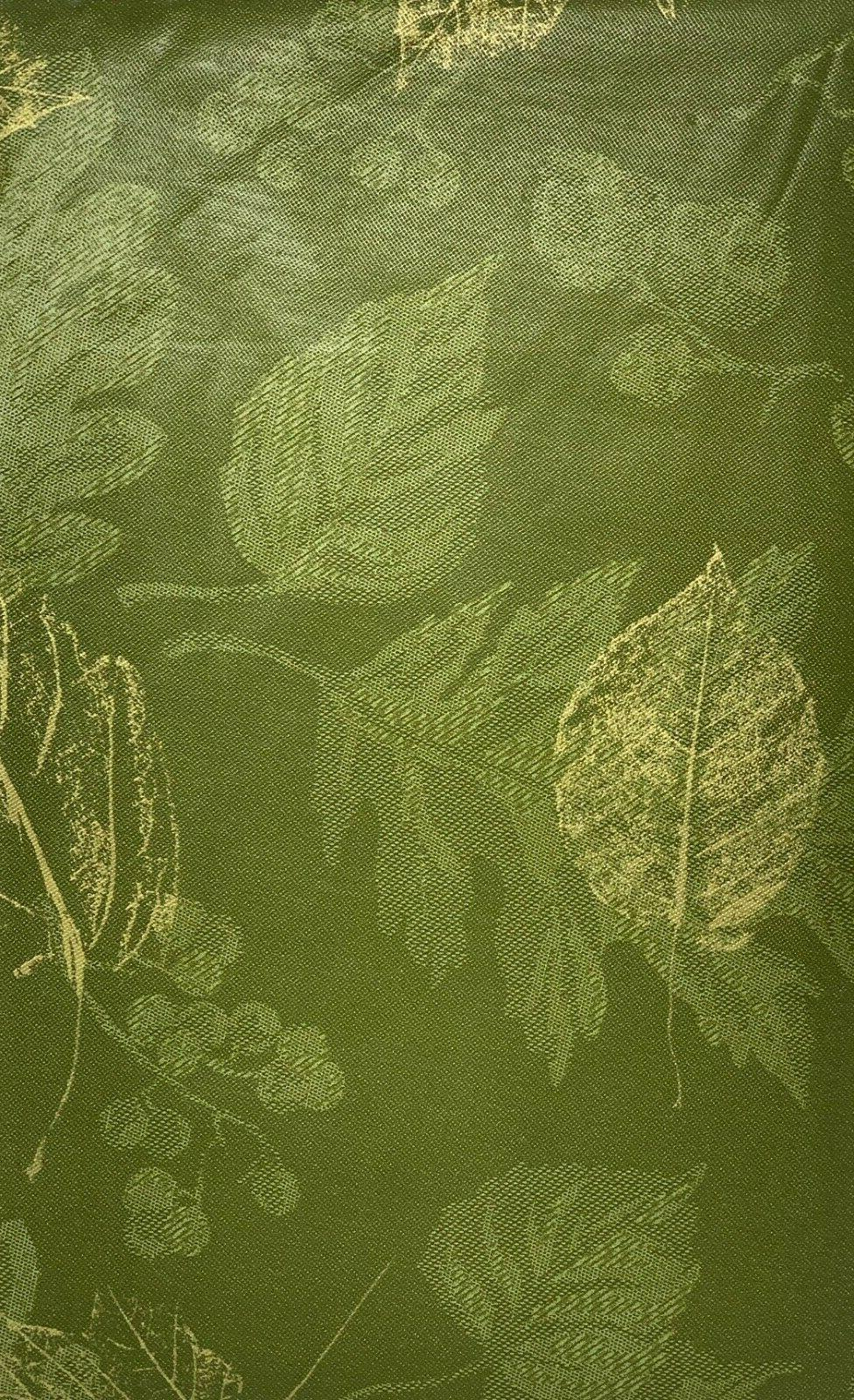 Autumn Backed Tablecloth. Round, Fall