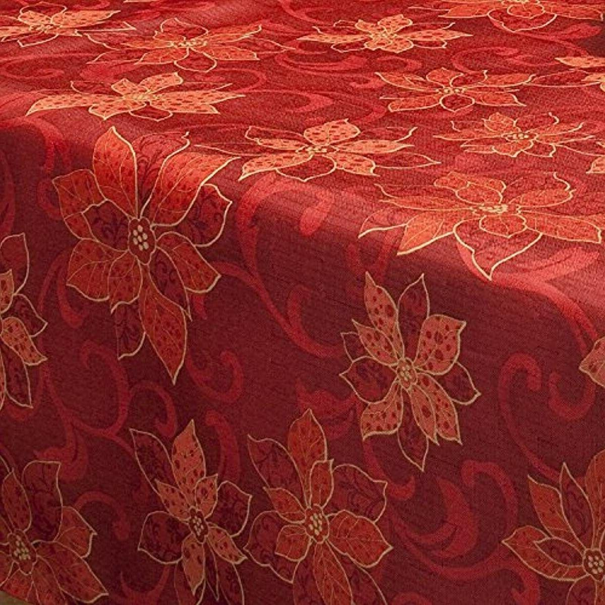 Benson Printed Fabric Tablecloth, Inch