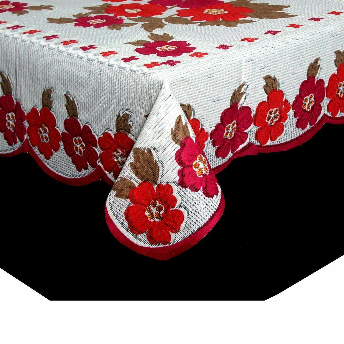center table cover white cloth net