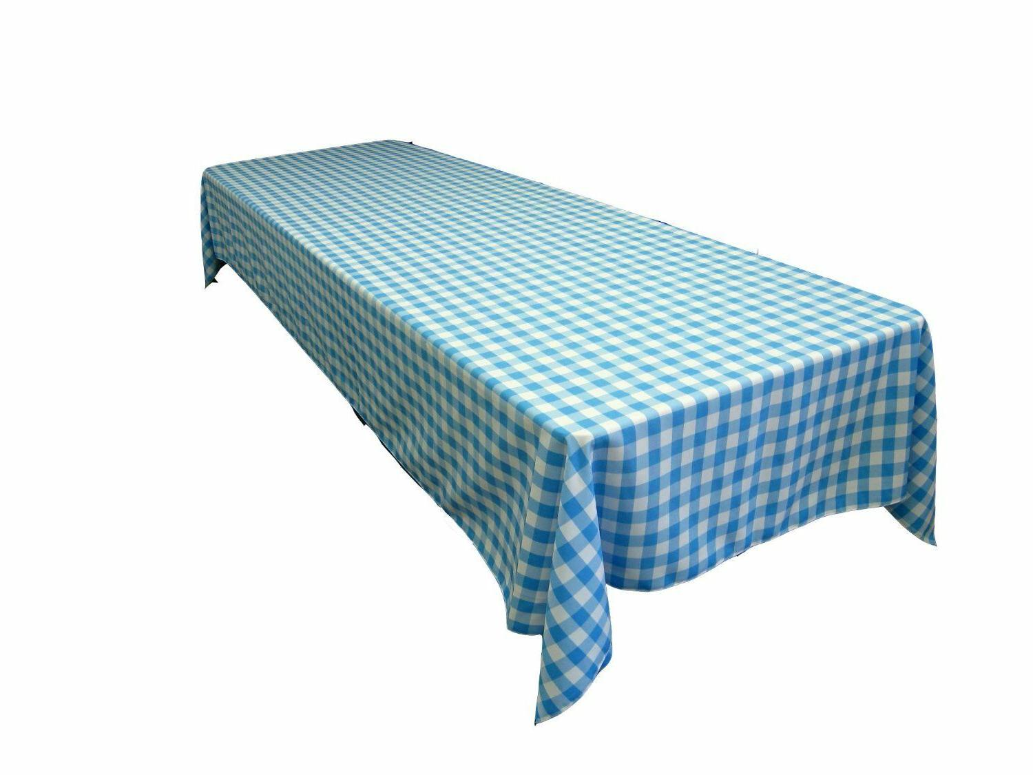 """Polyester Tablecloth Seamless 60X120"""" Linens"""