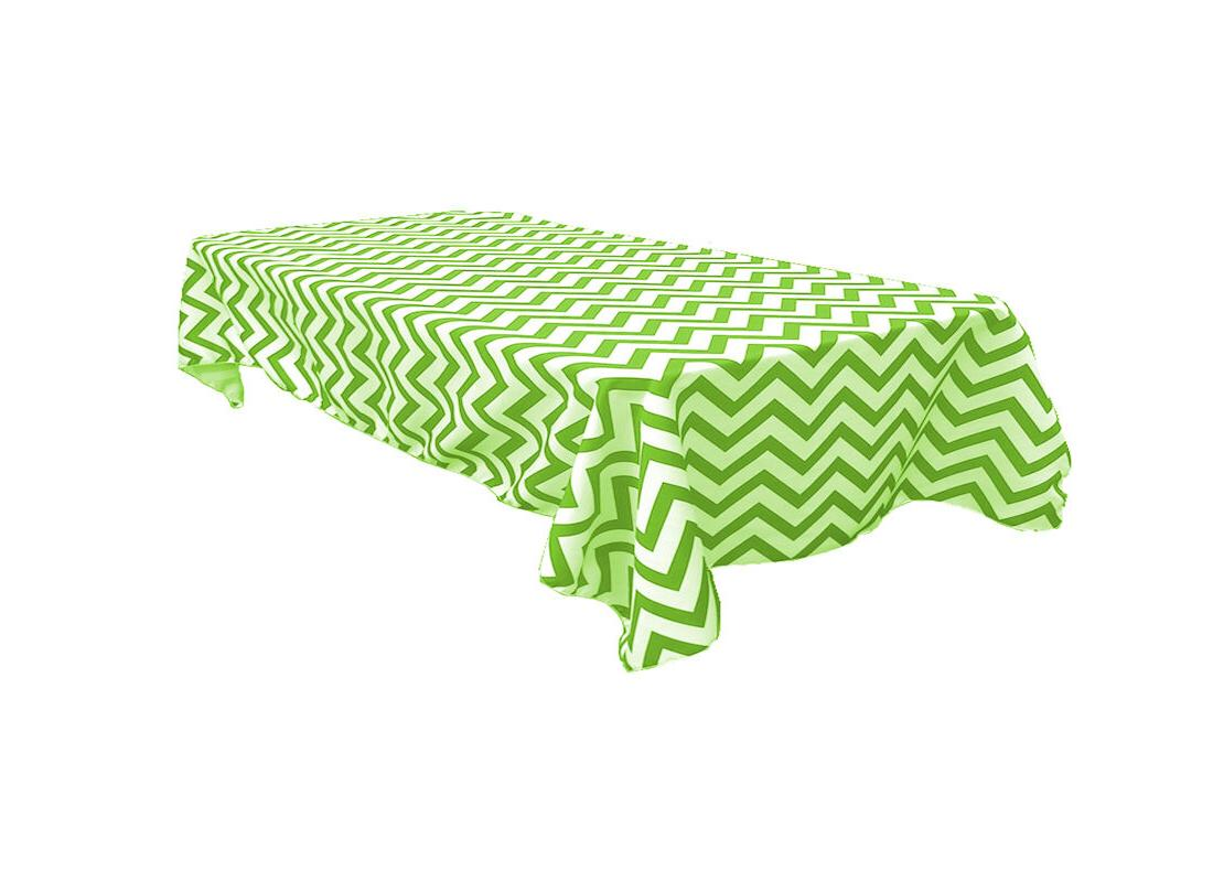 chevron tablecloth rectangular 90x132 variety colors by