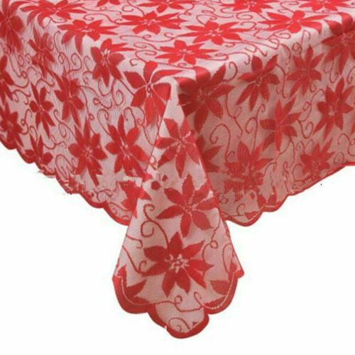 Christmas Lace Table Holiday