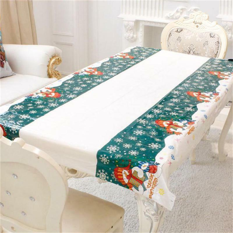 Christmas Dining Decor Linens Tables Covers