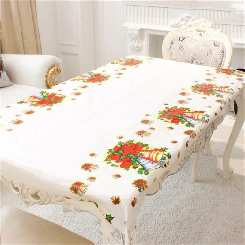 christmas tablecloths home kitchen dining table decor