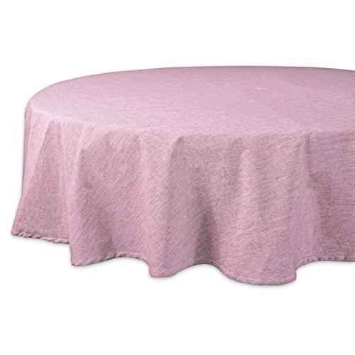 cotton chambray pastel tablecloth
