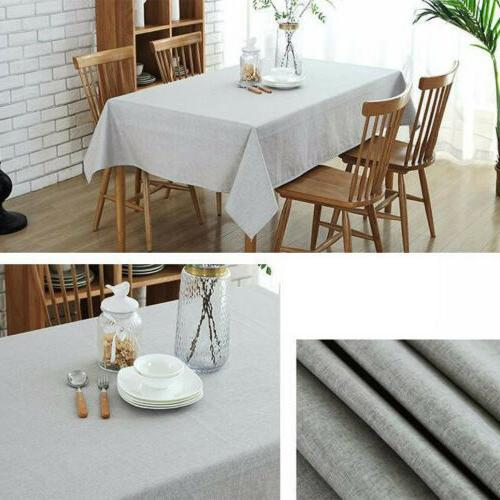 Cotton Rectangular Wedding Dining Cover Cloth