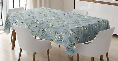 daisy tablecloth 3 sizes rectangular table cover