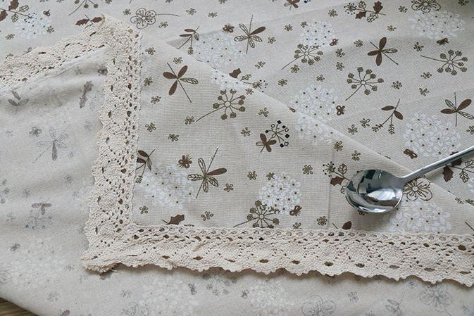 Dandelion Country Multifunctional Rectangle Tablecloth GQ26