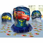 New Disney Cars 3 Birthday Party Centerpiece confetti Table