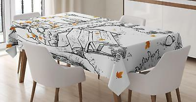 doodle tablecloth 3 sizes rectangular table cover