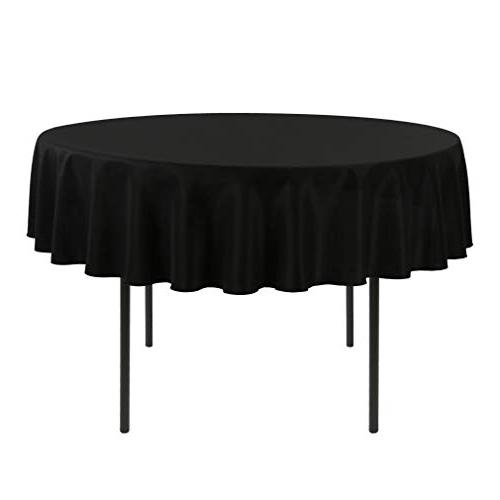 e tex 70 inch round tablecloth 100