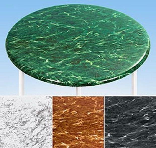 Elasticized Marble Glass Fitted Cover NEW