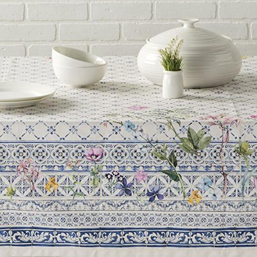 Maison d' 100% Cotton Tablecloth - Inch by - Inch