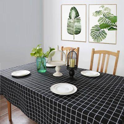 Fashion Kitchen Dining Room Linen Table Cloth Sheet new