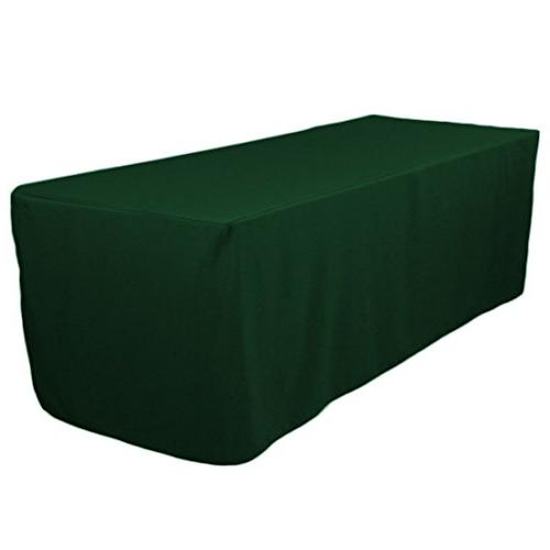fitted polyester tablecloth hunter