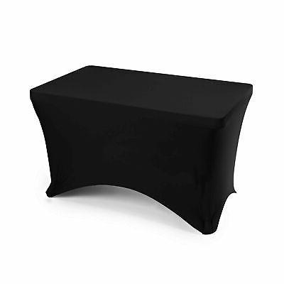 fitted rectangular spandex tablecloth
