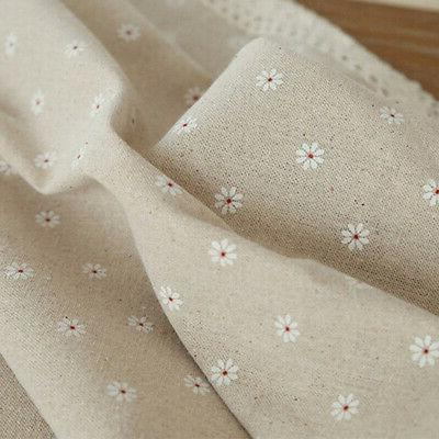 Flower Pattern Tablecloth Cotton Table with Lace