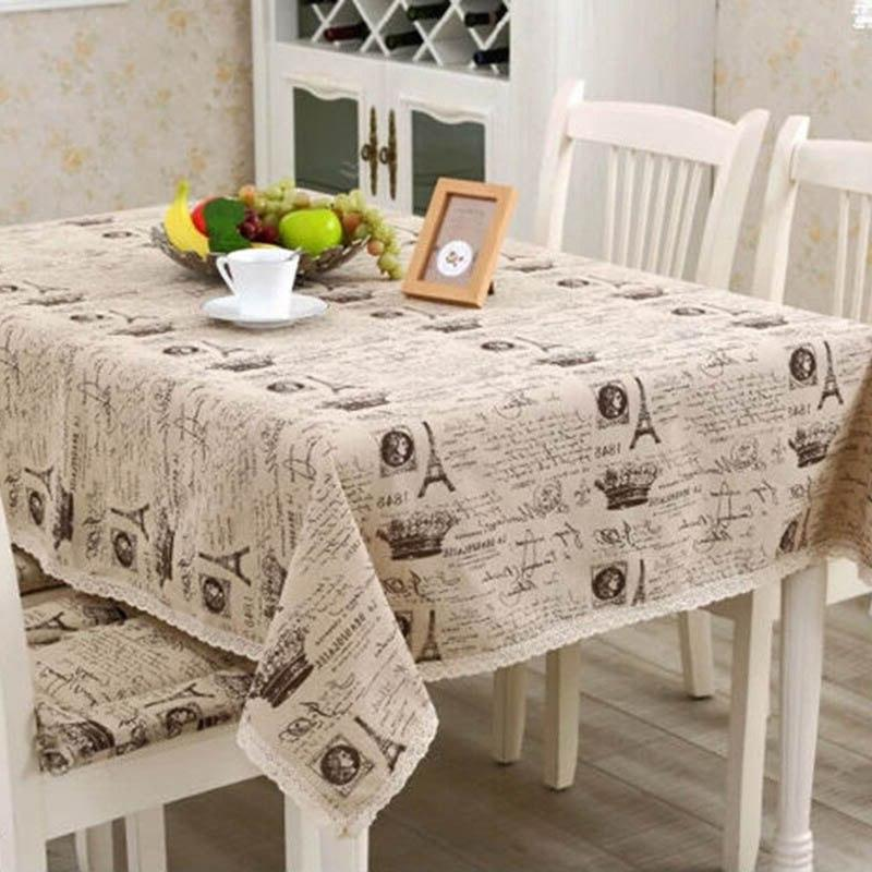 <font><b>Table</b></font> Printed Lace <font><b>Kitchen</b></font> Home Decoration Best Price