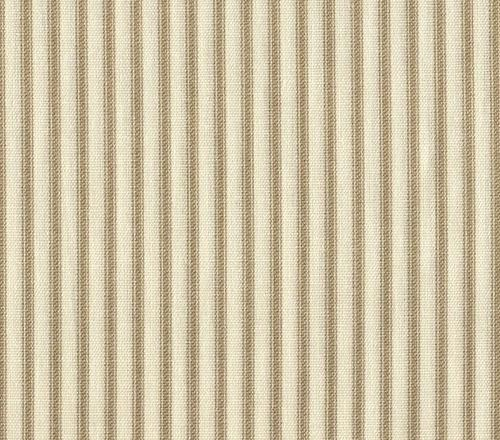 french country beige ticking stripe