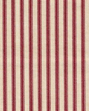 french country crimson red ticking