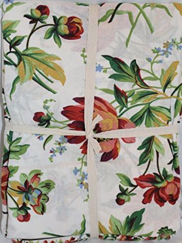 April Spring Tablecloth Round