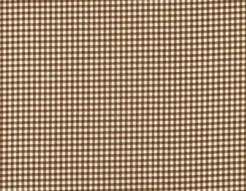 french country suede brown gingham