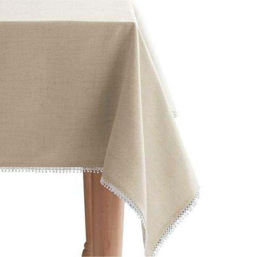 french perle solid 60 x102 rectangle tablecloth