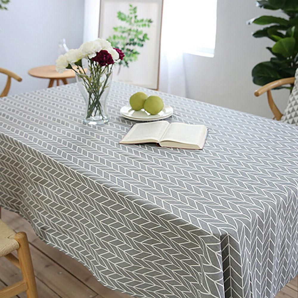 Geometry Dining Cloth Tablecloth Cover Decor Envy