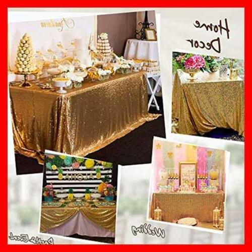 Gold Tablecloth Table Cloth