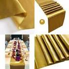 Gold Table Runners Pack Of 10-Satin Table Runner Gold,12 x 1