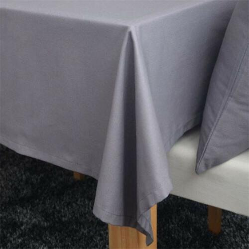 Gray Kitchen Tablecloth Cover