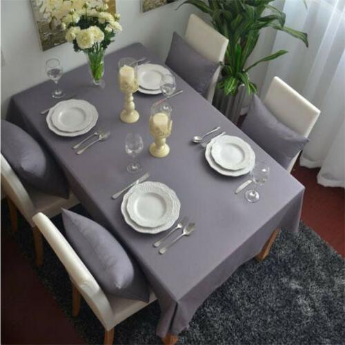 gray cotton table cloth kitchen tablecloth table