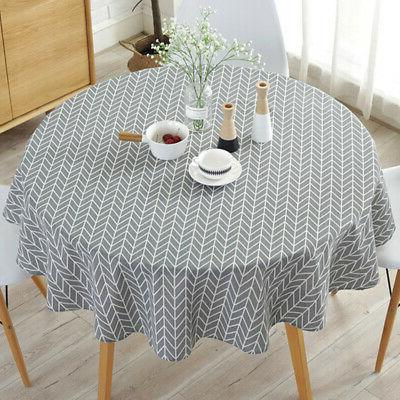 home kitchen dining round tablecloth table cloth