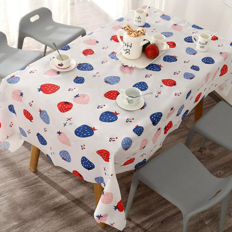 Home Waterproof Table Dining Cover Y88