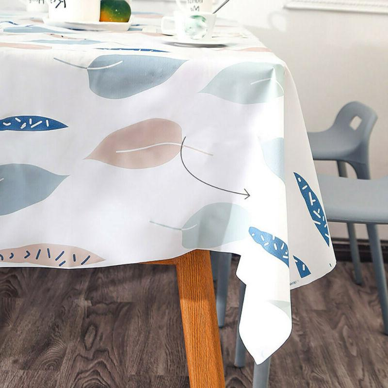 Home Waterproof Table Kitchen Dining Cover