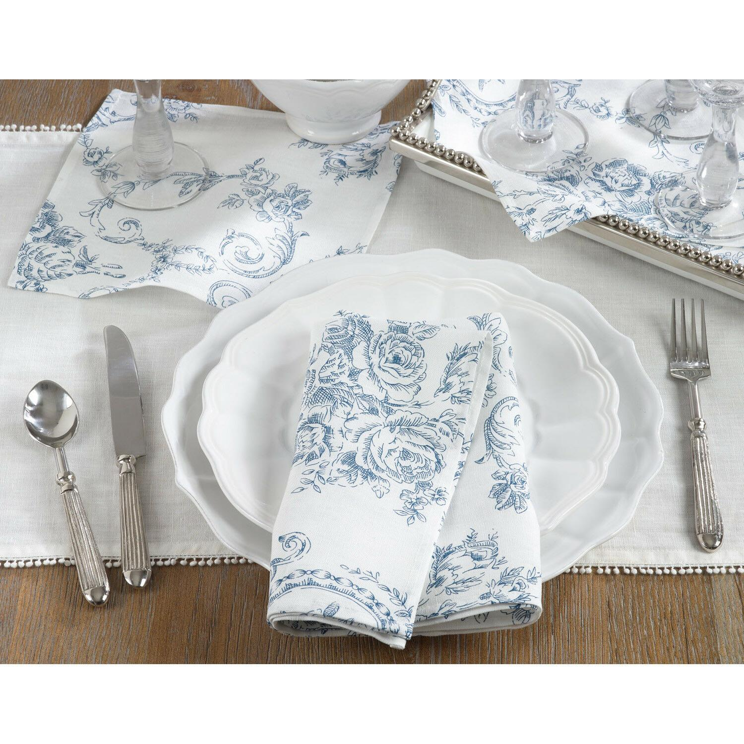 Occasion Gallery Floral Napkins